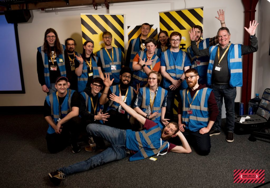 The mentors who supported HackManchester Junior