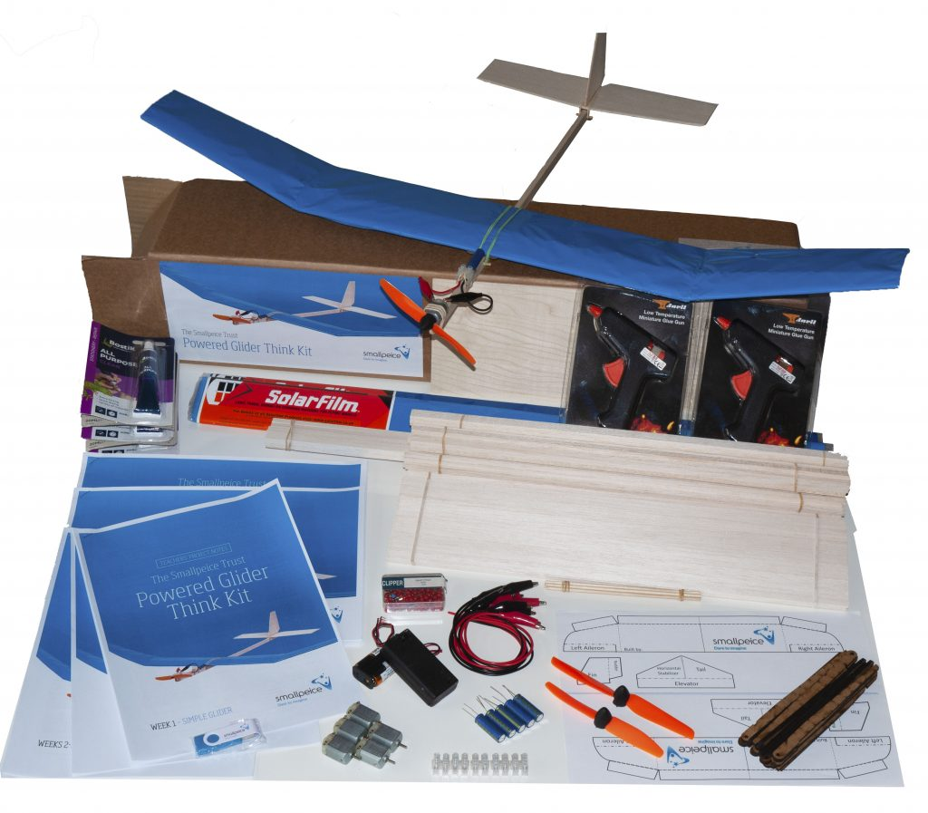 One of the Think Kits that Surevine have sponsored to be sent to a school